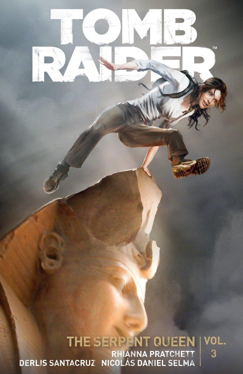 Tomb Raider Volume 3 Queen Of Serpents Pratchett Rhianna