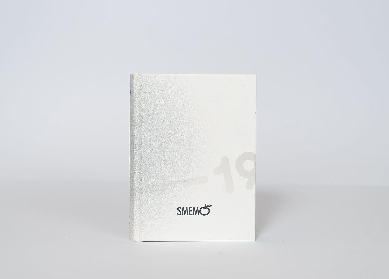 Smemoranda Diario 2018/2019 Datato 16 mesi, 13x17.7 cm, Verde e Rosa Gut Distribution S000091