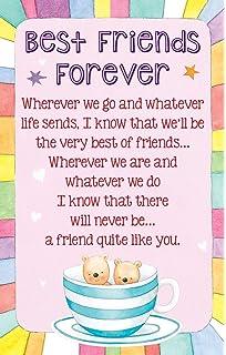 Rachel ellen designs best friend birthday card happy birthday to heartwarmers best friends forever keepsake card envelope k150e bookmarktalkfo Gallery