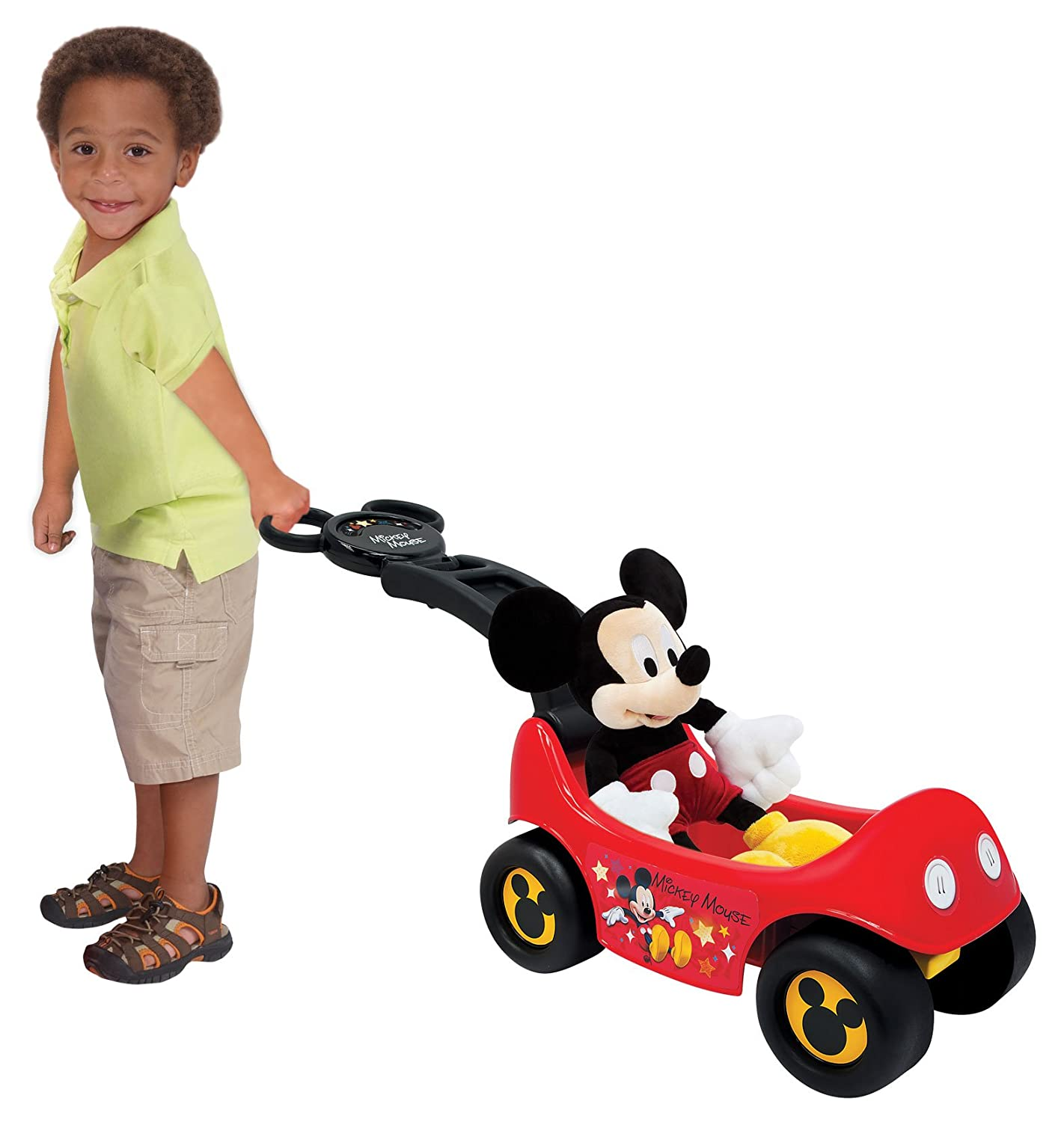 Amazon Mickey Mouse Club House Happy Hauler Ride Toys & Games