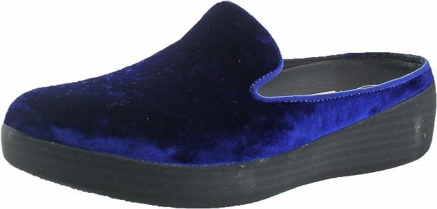 50c956c42d068 Womens Superskate Mules in Velvet Slip On Shoes