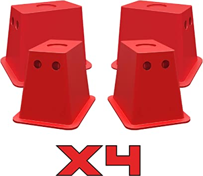 ANDERSON HITCHES EZ-BLOCK 3621 RECTANGLE JACK BLOCK FOR TRAILER, CAMPER /& RV
