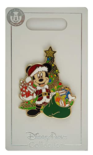 Mickey Mouse Christmas Tree.Wdw Trading Pin Holiday Santa Mickey Mouse Christmas