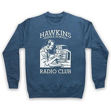 Stranger Things Hawkins Middle School Radio Club Erwachsenen