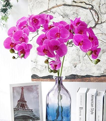 GT Flores artificiales Flores de mariposas, la decoración del hogar