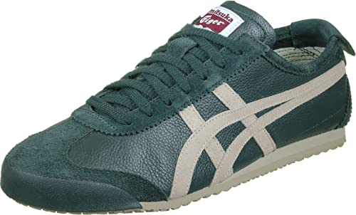 ASICS Onitsuka Tiger Mexico 66 vin Hampton Green Birch Sneaker Scarpe Shoes