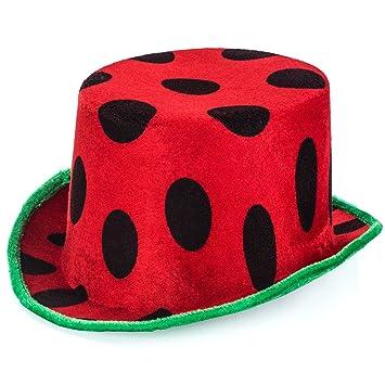 Watermelon Hat - Food Themed Hats - Fruit Hat - Watermelon Party - Crazy Hat  Day d2d40eb40df