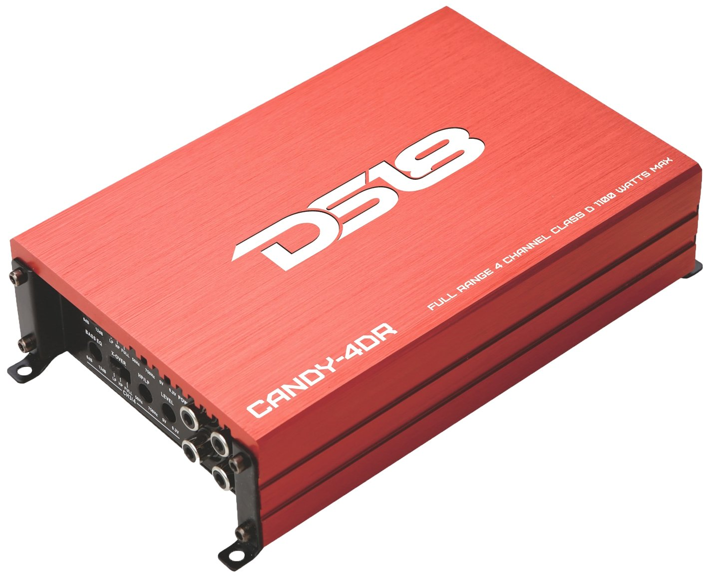 Ds18 Candy 2dr Full Range 2 Channel Class D 1000 Watts Sra5002 500w Car Power Amplifier Amp 8 Gauge Wiring Kit Max Mini Red Electronics