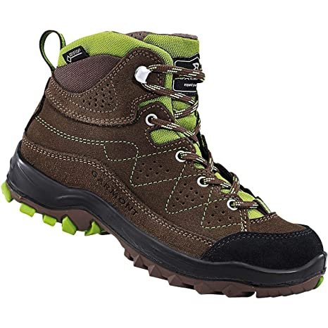 5d75dea1da447 GARMONT ESCAPE TOUR GTX Scarpe trekking goretex marrone bambino pedule  montagna