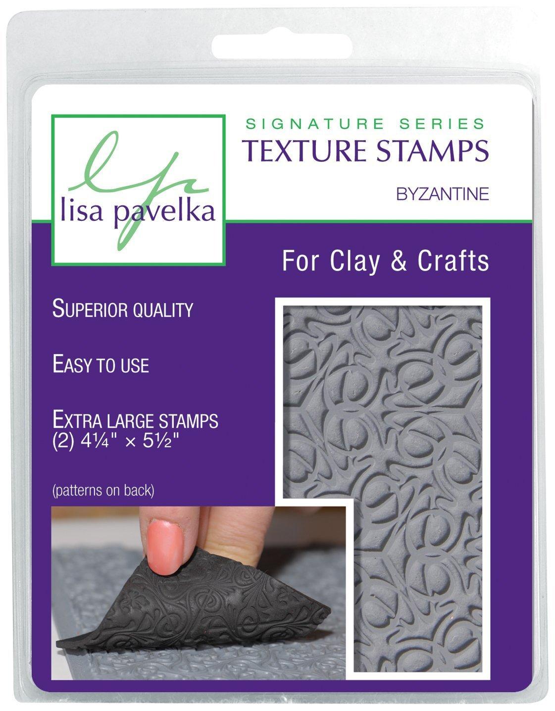 Lisa Pavelka Texture Stamp Kit Byzantine (Style 070) The Great Create Inc.