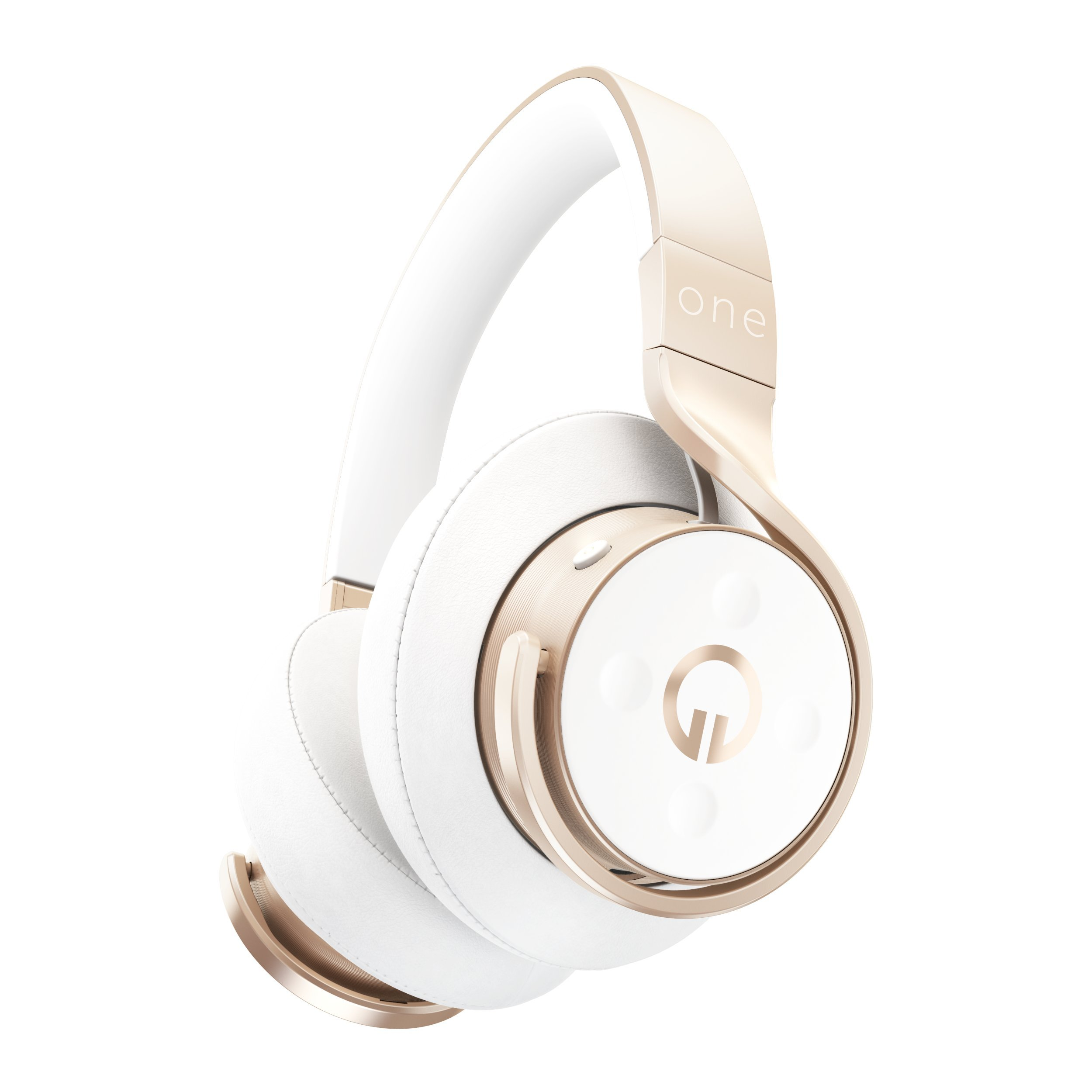 MUZIK One Connect Smarter Headphone, Champagne by MUZIK