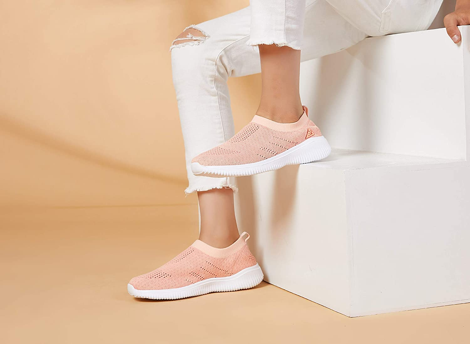 ALLY BELLY Boys Girls Walking Shoes Comfortable Casual Shoes Slip on Sneakers for Toddler Little Kid/…