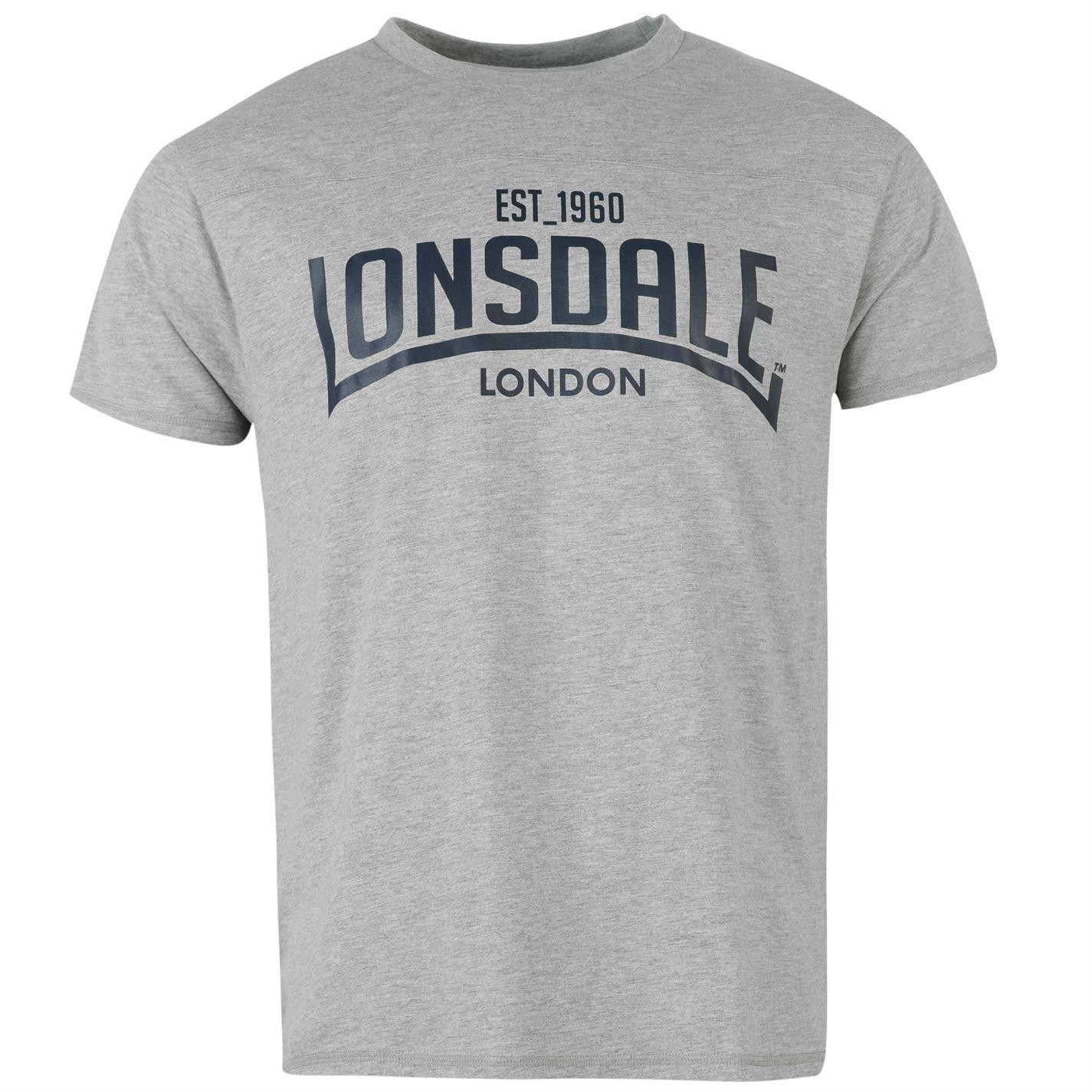 Lonsdale Hombre Camiseta De Box