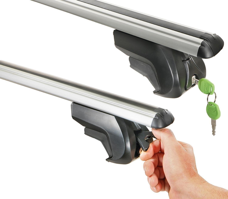 Aurilis Trek CC Roof Rack Rails Aluminium AUR Trekcc Alu Hond 3/T/ÜV//GS Mark