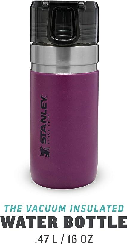 Stanley Go Vacuum Water Bottle 0.47L//16OZ Green