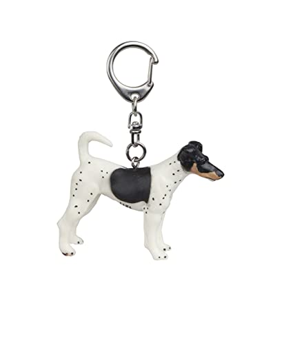 Amazon.com: Papo Fox Terrier Key Ring, Multicolor: Toys & Games