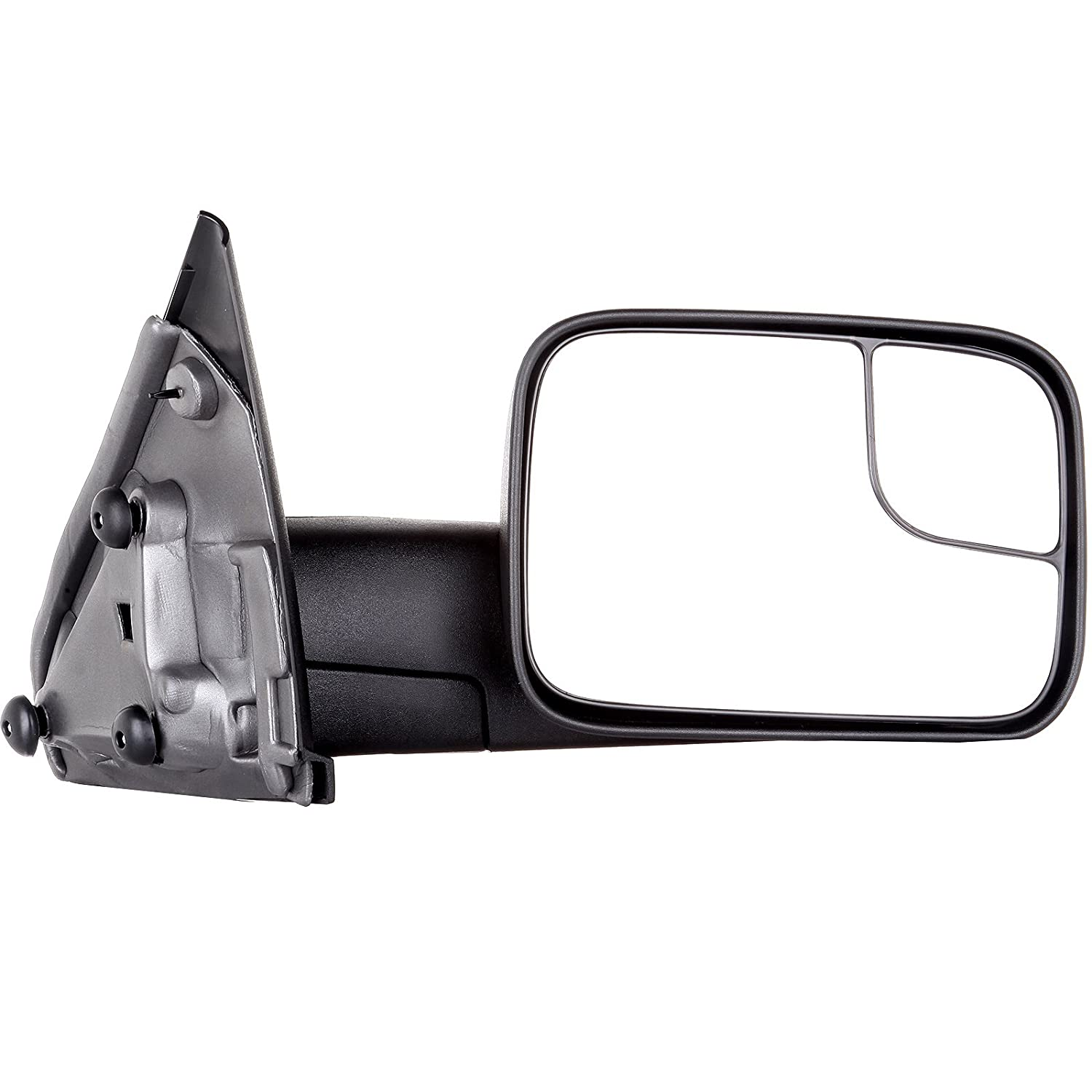 Scitoo Tow Side Mirror Pair Set For 02-08 Dodge Ram 1500 03-09 Ram 2500 3500 Full Size Pickup Truck Manual Towing Mirrors LH/&RH CH1320227 CH1321227