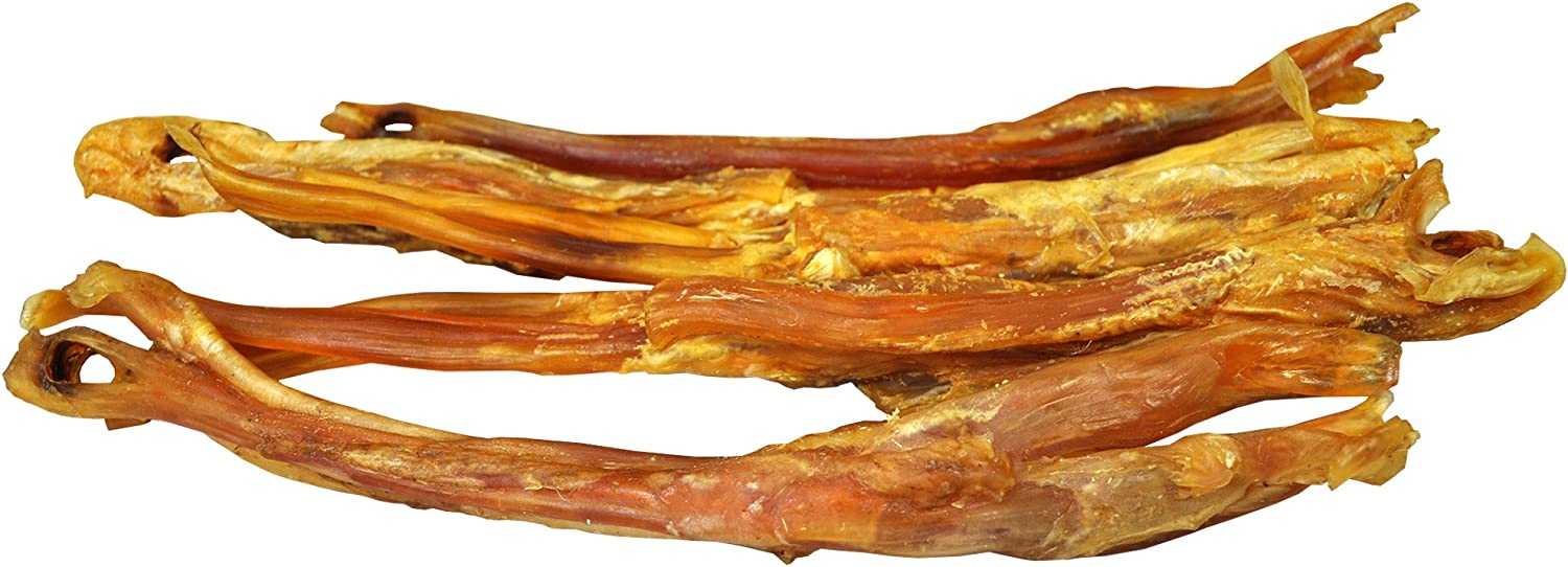 "Downtown Pet Supply All Natural Beef Tendons Made in USA - Single Ingredient, Alternative to Bully Sticks, Healthy Dog Treats, 8"" - 10"" Long"