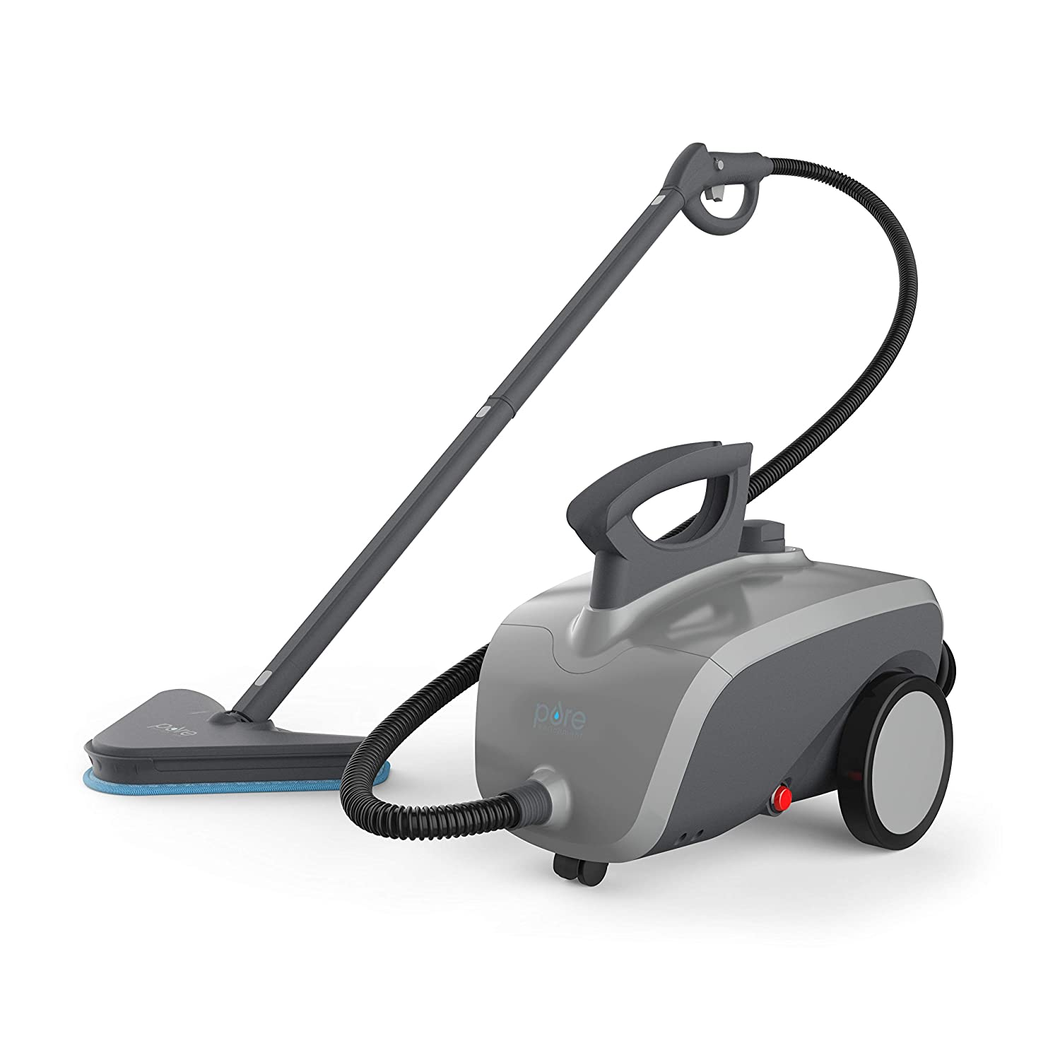 Pure Enrichment PureClean XL Rolling Steam Cleaner