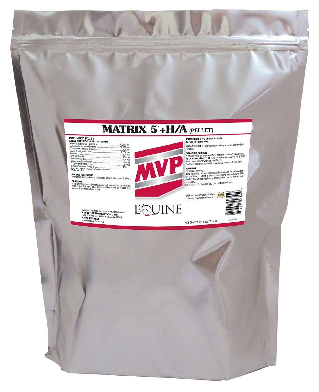 Med-Vet Pharmaceuticals Matrix 5 HA Pellets - 5 Lb by Med-Vet Pharmaceuticals