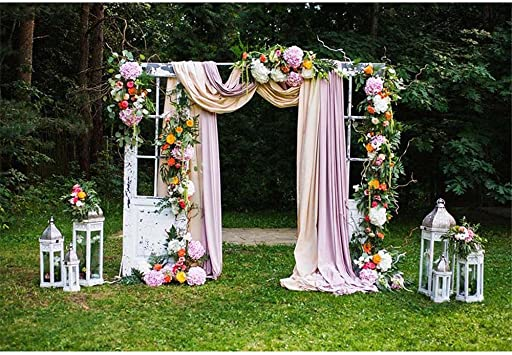 Foto Telón de fondo Naturaleza 7 x 5ft cortina de flores de papel ...