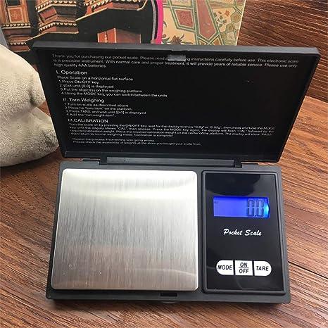 TAOtTAO Báscula digital de precisión de 600 g para joyería ...