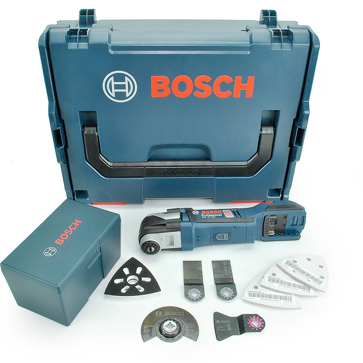 bosch akku multi cutter gop 18 v ec solo 06018b0002 ebay. Black Bedroom Furniture Sets. Home Design Ideas
