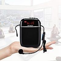 Amplificador de voz (10W) 1000mAh Bluetooth, pila al lithiumand Wired Micrófono para las guías, los profesores…