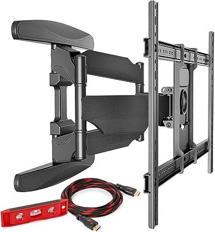 "10/""-42/"" LCD LED Flat Tilt Full Motion Swivel TV Wall Mount Bracket Heavy Duty US"