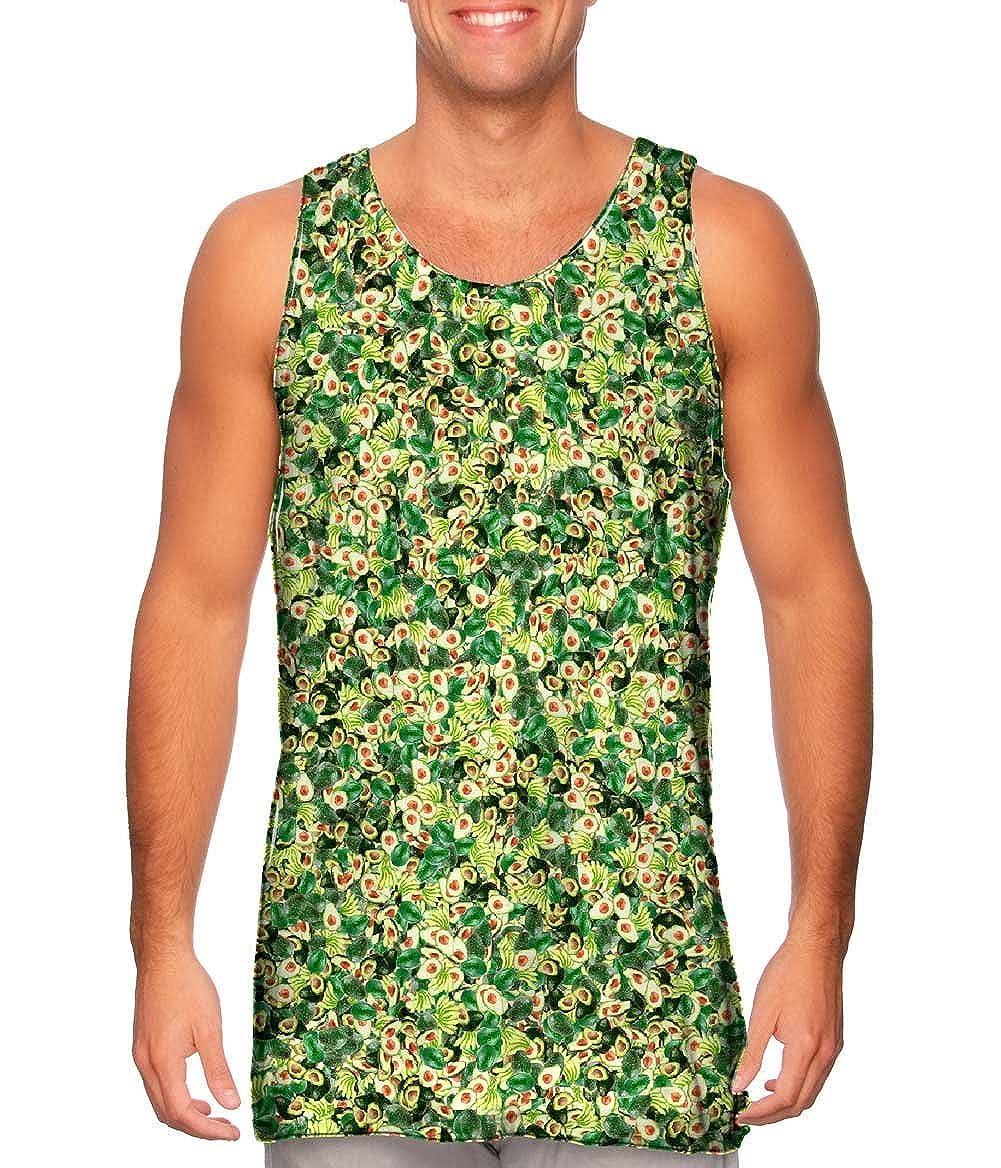 Yizzam Tshirt Mens Tank Top Guacamole Avocado