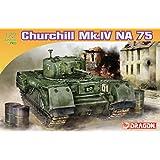 プラッツ 1/72 第二次世界大戦 イギリス軍 チャーチル歩兵戦車 MK.IV NA75 プラモデル DR7507