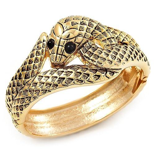 Antikgold, Schlangen-Armband