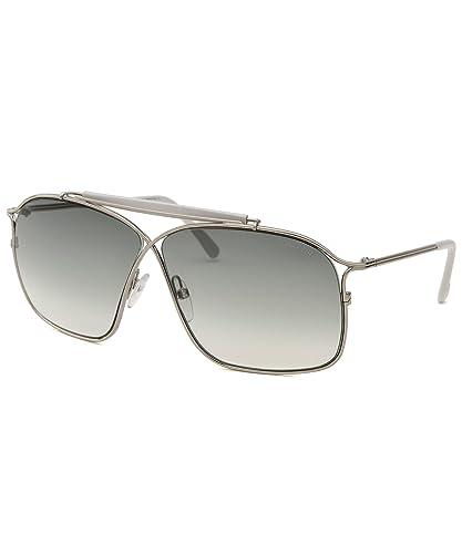 c11433a44439 Amazon.com  Tom Ford Felix FT0194 Sunglasses-16B Silver (Gray Gradient  Lens)-60mm  Shoes