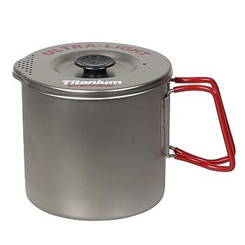 Evernew Medium Titanium Pasta Pot