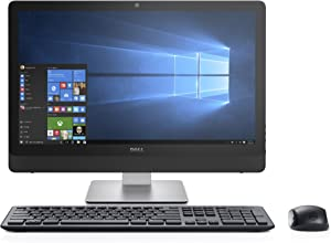 Dell Inspiron 3464 i3464-3038BLK-PUS All-in-One Desktop, 23.8in (Black) (Renewed)