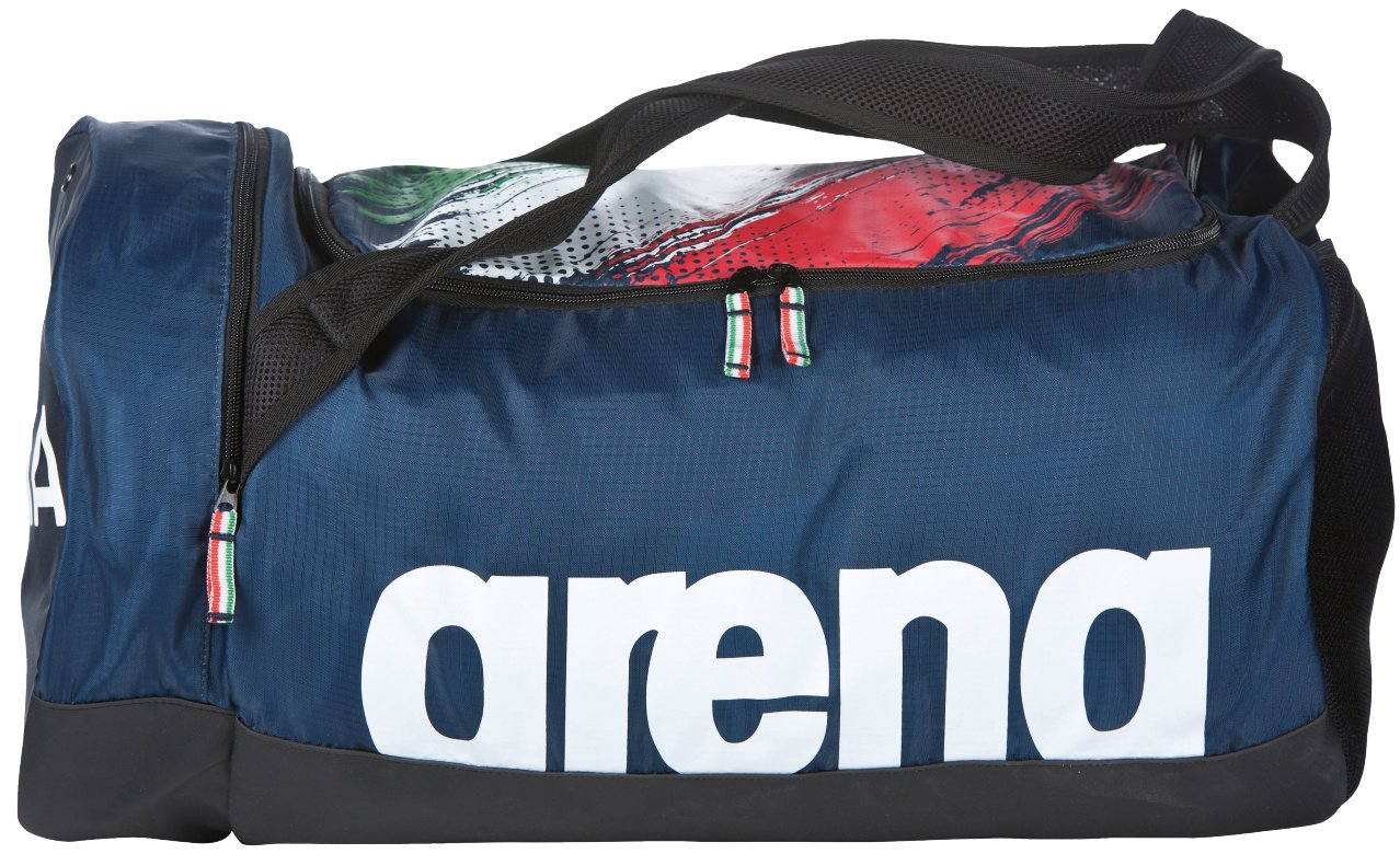 arena Fast Duffle Fin Italy Bag, Navy White, One Size