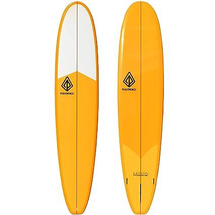 Amazon Com Paragon Surfboards Modern Noserider Longboard High