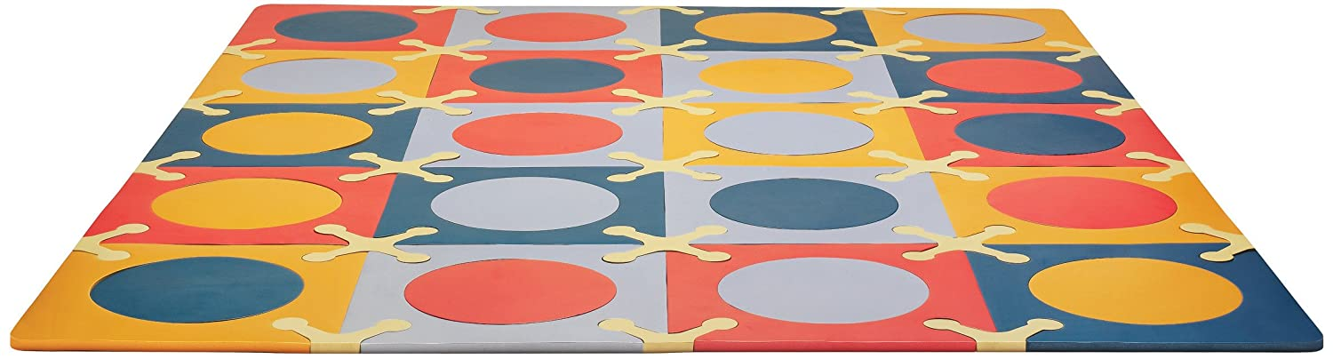 Amazing Amazon.com : Skip Hop Baby Infant U0026 Toddler Playmat With Interlocking Foam  Floor Tiles, Multi Brights : Early Development Playmats : Baby