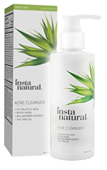 InstaNatural Acne Face Wash