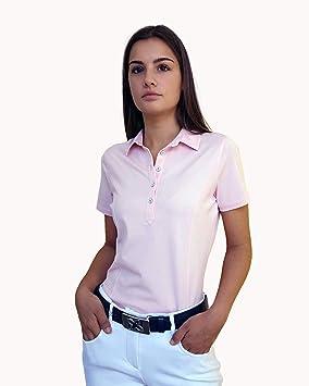 JELFY Floria - Polo de Golf para Mujer con Manga Corta en Jersey ...