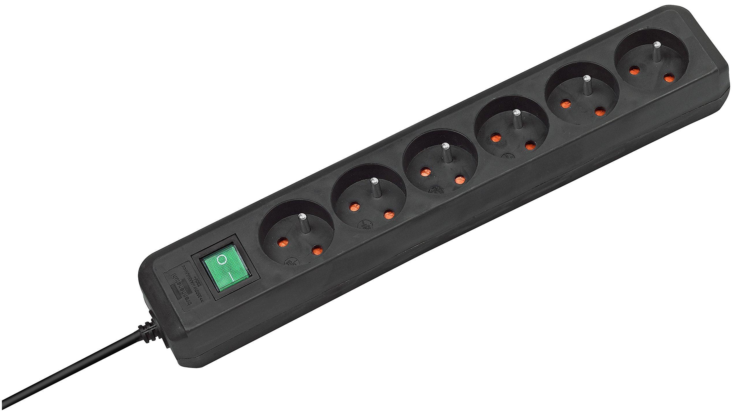 Tec Hit 6106 Cordon prolongateur 2 x 0,75 mm2 x 5 m 6 A