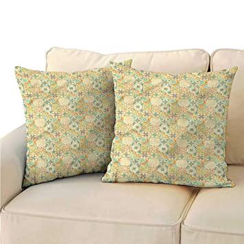 Amazon.com: Ediyuneth Decorative Square Accent Pillow Case ...