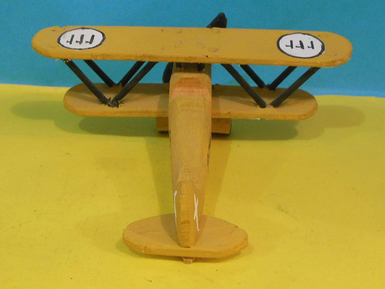 Wooden Toy Fiat CR42 Airplane