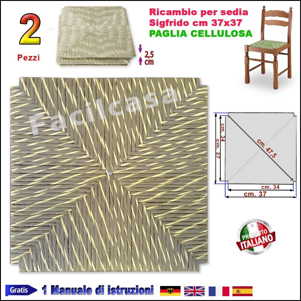 Seduta Fondo in Simil Paglia, Cellulosa FACILCASA Ricambio Sedie Pisa Art.1001