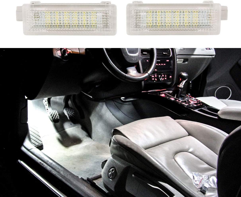 2X LED Modul Fussraumbeleuchtung Ausstiegsbeleuchtung Kofferraumbeleuchtung f/ür E90 E91 E92 E87 E81 E60 E61 E70 E83 IB18