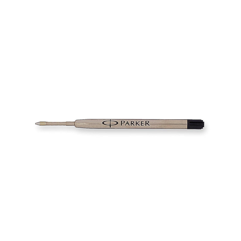 Parker Quinkflow Recharge de stylo bille Lot de 1 Medium Nib noir