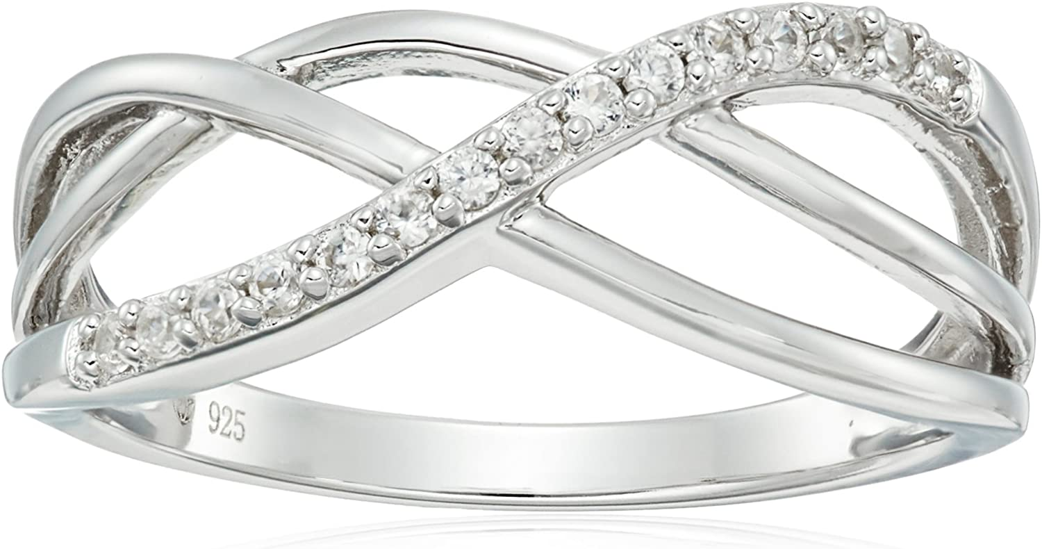USA Seller Braid Ring Sterling Silver 925 Best Price Jewelry Gift Selectable