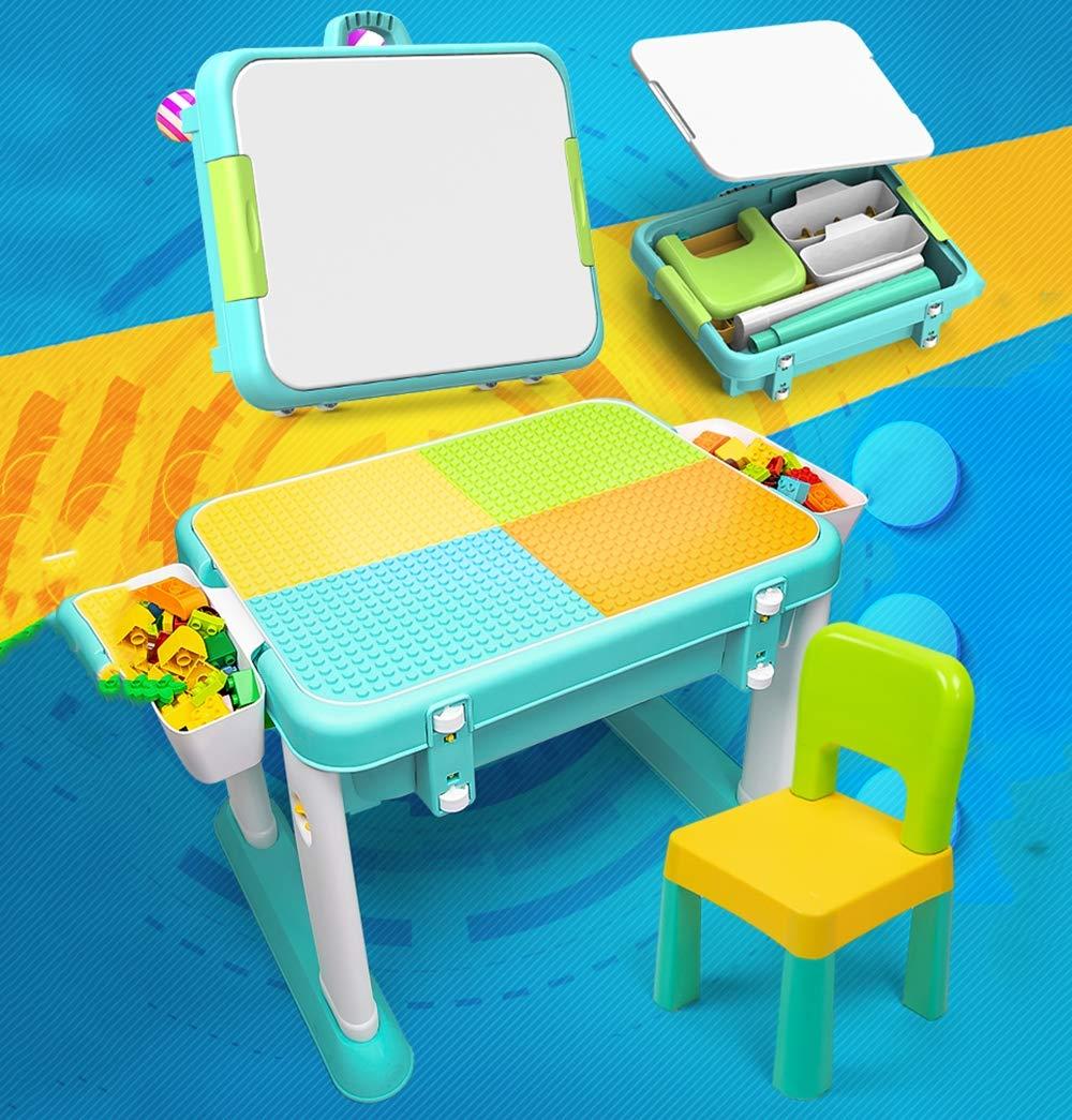 apresurado a ver EP-Juguete Bloques de de de construcción Mesas y Juegos de sillas, 7 en 1 Bloques de construcción Multiusos Juguetes educativos para niños,A  promociones emocionantes