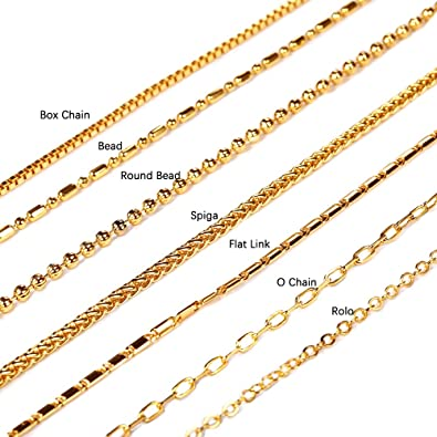 Necklace Chains Types Images