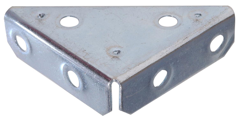 The Hillman Group 851143 2 Inch Heavy Duty Corner Brace Zinc Plated